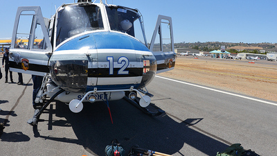 N107BZ - Bell 205A-1 - United States - San Diego County Sheriff