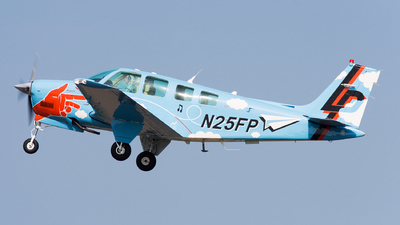 N25FP - Beechcraft A36 Bonanza - Private