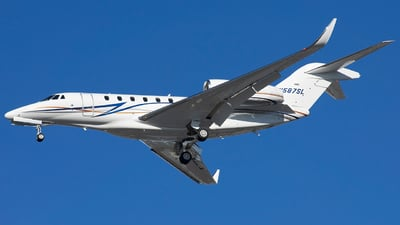 N587SL - Cessna 750X Plus - Private