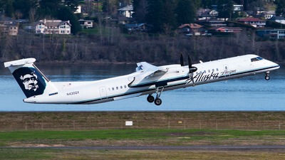 N430QX - Bombardier Dash 8-Q402 - Alaska Airlines (Horizon Air)
