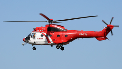 HB-XVY - Aérospatiale AS 332C1 Super Puma - Heliswiss International