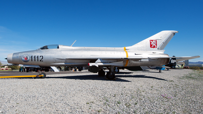 1112 - Mikoyan-Gurevich MiG-21F-13 Fishbed C - Czechoslovakia - Air Force