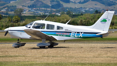 ZK-ELX - Piper PA-28-151 Cherokee Warrior - Aviation Training