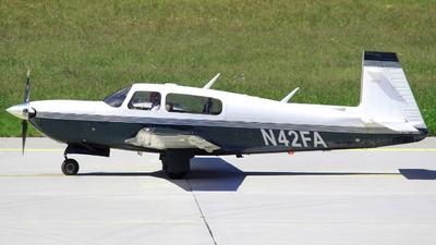 N42FA - Mooney M20M Bravo - Private