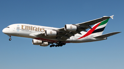 A6-EOB - Airbus A380-861 - Emirates