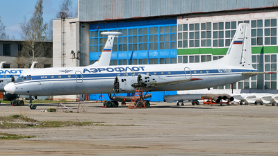 RA-75591 - Ilyushin IL-18V - Russia - Air Force