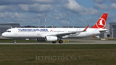 D-AZAP - Airbus A321-231 - Turkish Airlines