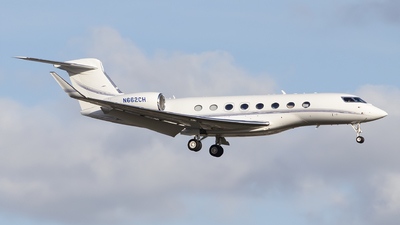 N662CH  - Gulfstream G650ER - Private