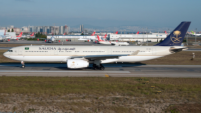 HZ-AQ13 - Airbus A330-343 - Saudi Arabian Airlines