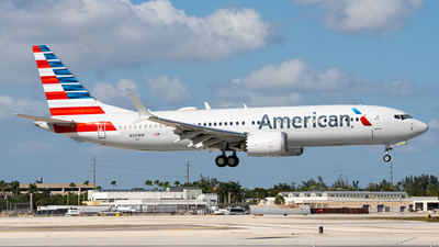N341RW - Boeing 737-8 MAX - American Airlines