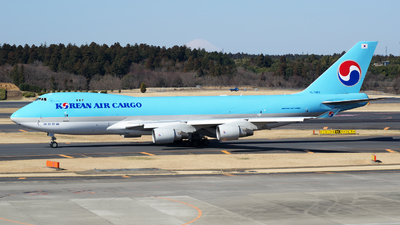 HL7462 - Boeing 747-4B5F(SCD) - Korean Air Cargo