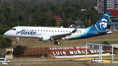 N648QX - Embraer 170-200LR - Alaska Airlines (Horizon Air)
