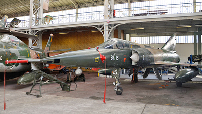 BA-15 - Dassault Mirage 5BA - Belgium - Air Force