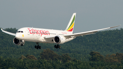 A picture of ETASI - Boeing 7878 Dreamliner - Ethiopian Airlines - © Hon Kit