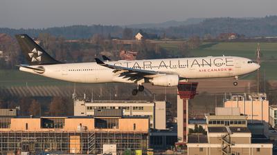 A picture of CGHLM - Airbus A330343 - Air Canada - © Luca Fahrni
