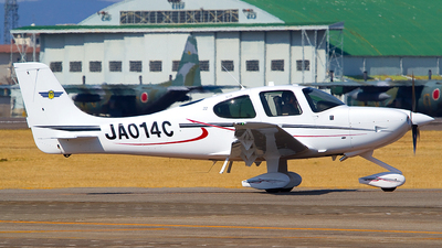 JA014C - Cirrus SR22 - Japan - Civil Aviation College