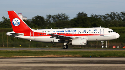 B-6422 - Airbus A319-133 - Sichuan Airlines