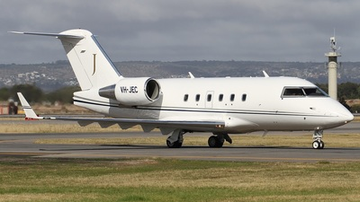 VH-JEC - Bombardier CL-600 2B16 - Private