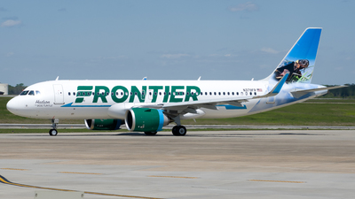 A picture of N379FR - Airbus A320251N - Frontier Airlines - © Devin R