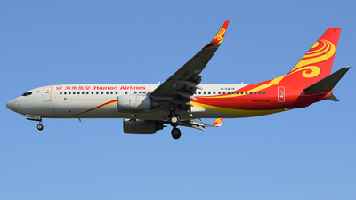 A picture of B5429 - Boeing 73786N - Hainan Airlines - © XiaoWangTongXue