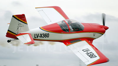 LV-X360 - Vans RV-7 - Private