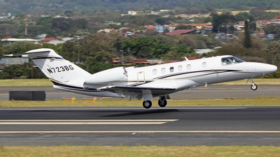 N723BG - Cessna 525C CitationJet 4 - Private