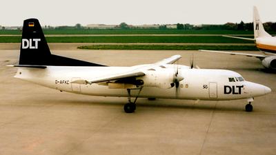 D-AFKC - Fokker 50 - DLT