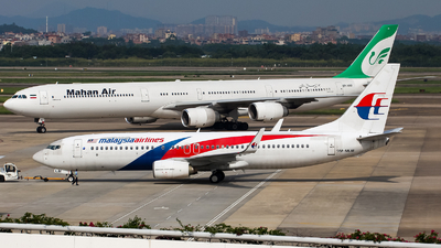 A picture of 9MMLM - Boeing 7378H6 - Malaysia Airlines - © Chingwang Lee