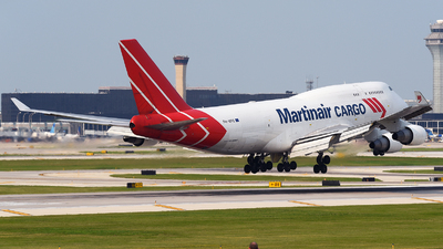 A picture of PHMPS - Boeing 747412(BCF) - Martinair Holland - ©  JC