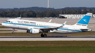 9K-AKF - Airbus A320-214 - Kuwait Airways