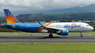 A picture of N250NV - Airbus A320214 - Allegiant Air - © Jose Villarreal SJO Spotters