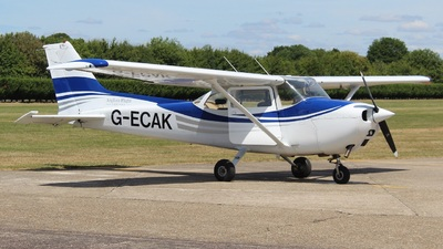 G-ECAK - Reims-Cessna F172M Skyhawk - English Air Services