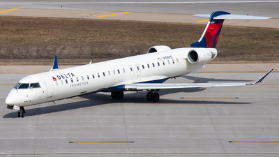 A picture of N195PQ - Mitsubishi CRJ900LR - Delta Air Lines - © Twin Cities Spotter
