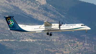 A picture of SXOBH - De Havilland Canada Dash 8400 - Olympic Air - © Kostas Marmarelis