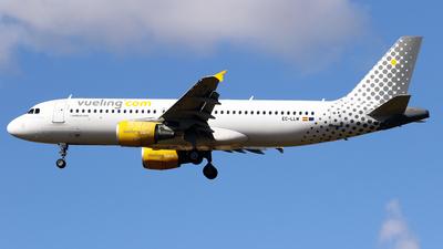A picture of ECLLM - Airbus A320214 - Vueling - © Javier Rodriguez - Amics de Son Sant Joan