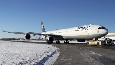 D-AIHF - Airbus A340-642 - Lufthansa