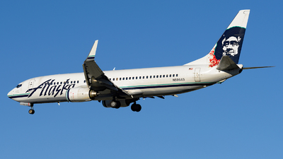 N566AS - Boeing 737-890 - Alaska Airlines
