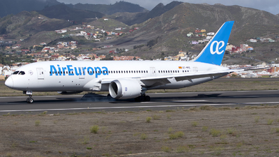 A picture of ECMPE - Boeing 7878 - Air Europa - © Leandro Hdez