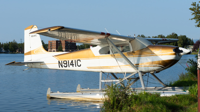 A picture of N9141C - Cessna 180 - [31240] - © Taylor Kim