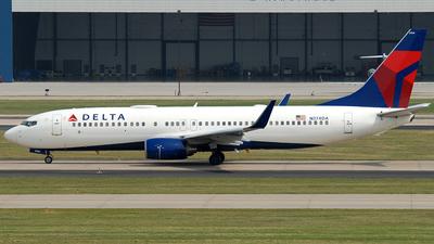 A picture of N374DA - Boeing 737832 - Delta Air Lines - © Jason Whitebird