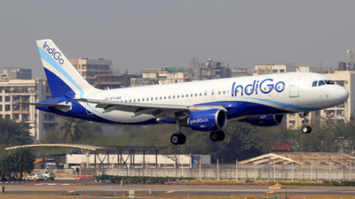 VT-IHO - Airbus A320-214 - IndiGo Airlines