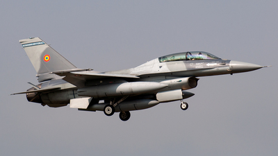 1610 - General Dynamics F-16BM Fighting Falcon - Romania - Air Force