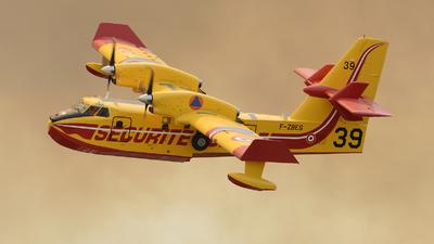 F-ZBEG - Canadair CL-415 - France - Sécurité Civile