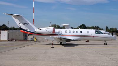 G-SDRY - Cessna 525C CitationJet 4 - Private