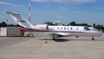 A picture of GSDRY - Cessna 525C CitationJet CJ4 - [525C0134] - © Fabio Ferioli
