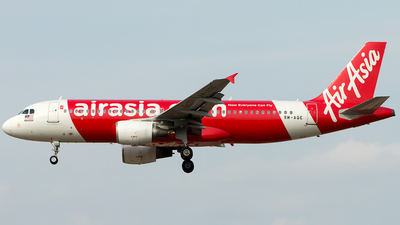 A picture of 9MAQE - Airbus A320216 - AirAsia - © Hon Kit