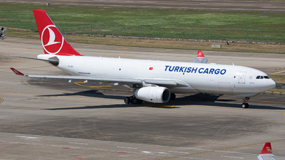 A picture of TCJOU - Airbus A330243F - Turkish Airlines - © Mel_Ben_Li