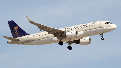 HZ-AS55 - Airbus A320-214 - Saudi Arabian Airlines