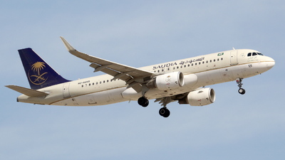 A picture of HZAS55 - Airbus A320214 - Saudia - © F.Wolf