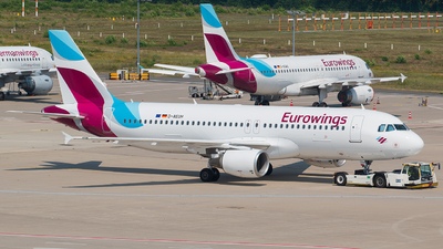A picture of DAEUH - Airbus A320214 - Eurowings - © Tim Kaempfer